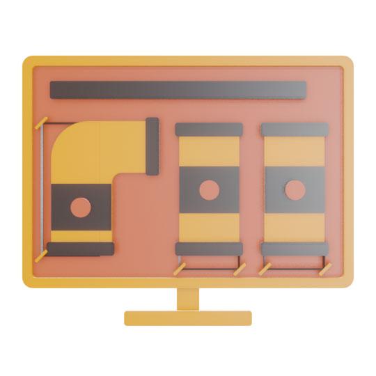Etichettatura e misurazione automatica dei Tubi disegnati