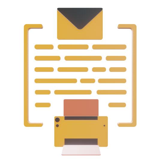 Stampa in PDF ed invio Email