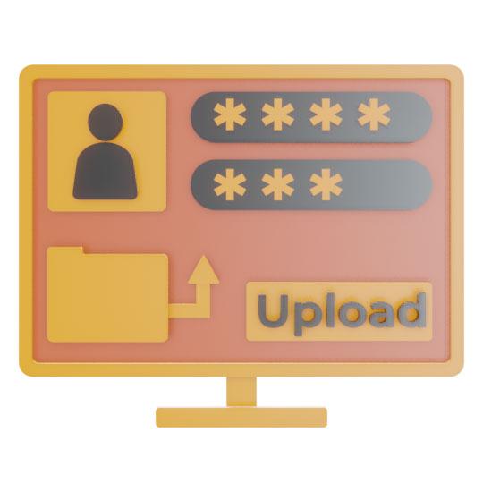 Upload dei file XML